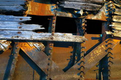 Old barges Royalty Free Stock Images
