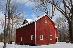 Old Barn – Tinicum County Park Royalty Free Stock Photos
