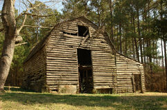 Old barn. In AR USA Stock Images