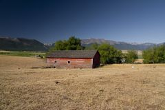 The Old Barn Royalty Free Stock Photography