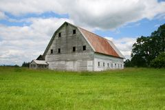 Old barn.  Stock Photos