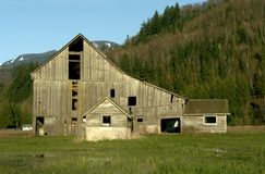 Old Barn royalty free stock image