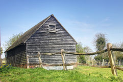 Old barn. In rural england Stock Images
