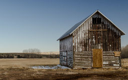 Old Barn. An old abandoned Country barn Stock Images