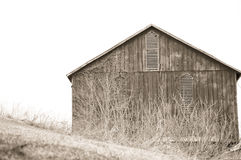 Old barn Stock Images