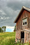 Old Barn. An old historic house and barn. Taken in Norway Stock Photography