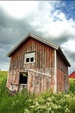 Old Barn. An old historic house and barn. Taken in Norway Royalty Free Stock Photo