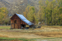Old barn in Autumn. Stock Images