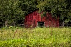 Old Barn royalty free stock images