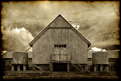 Old barn building Stock Photography