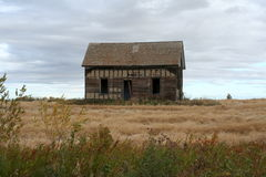 Old barn building in countryside Royalty Free Stock Image