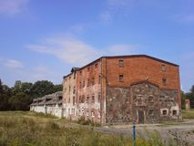Old barn building in Poland Stock Photography