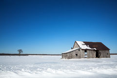 Old barn, Canada Stock Photo