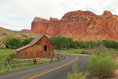 Old barn in Capitol Reef Royalty Free Stock Images