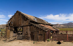 The old barn. Stock Images
