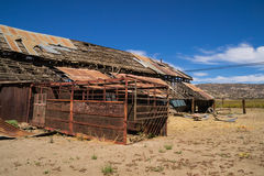 The old barn. Royalty Free Stock Photography