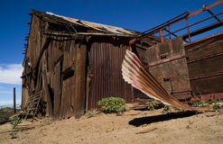 The old barn. Royalty Free Stock Images