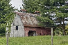 Old Barn in the Country royalty free stock photos