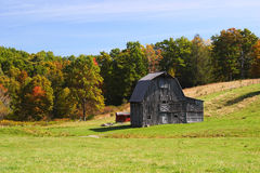 Old Barn Country Scenic stock image