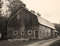 Old barn in the country Royalty Free Stock Photo