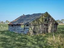 Old barn stock image