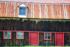 Old barn detail Royalty Free Stock Images