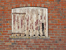 Old barn door Stock Images