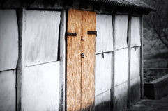 Old barn door Royalty Free Stock Photo