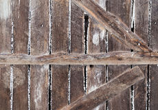 Old barn door from country Stock Photo