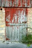 Old Barn Door Stock Photography