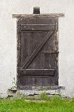 Old barn door Stock Photo