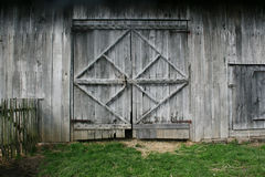 Old Barn Doors Royalty Free Stock Images