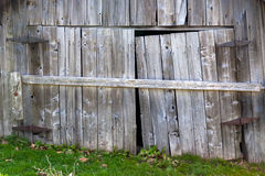 Old barn doors Royalty Free Stock Image