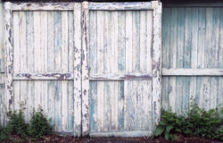 Old Barn Doors Stock Photography