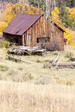 Old Barn in Fall Royalty Free Stock Photos