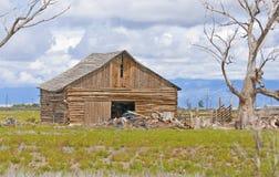 Old Barn on Farm Stock Photos