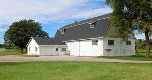 Old Barn at farm in Michigan USA royalty free stock photos