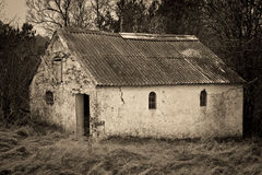 Old Barn in the Forest Royalty Free Stock Photography