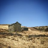 Old barn in the heart of the Pennines Stock Image