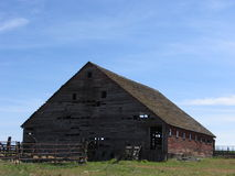 Old Barn. On an old homestead Stock Photos