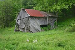 Old Barn (horizontal) Royalty Free Stock Photo