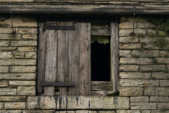 Old barn house. Stock Photo