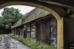 The old barn house Royalty Free Stock Photography