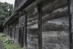 The old barn house Stock Image