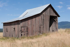 Old Barn in Idaho Stock Photography