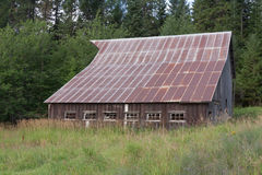 Old Barn in Idaho Royalty Free Stock Image