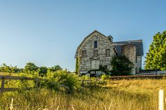 This old Barn. If old barns could talk. From a farm in Pennsylvania Stock Photo