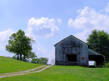 Free Old Barn In Kentucky Royalty Free Stock Photography - 1100037