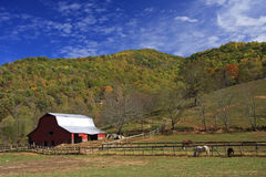 Free Old Barn In The Mountains Stock Photo - 7232740