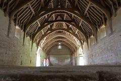 Old barn interior Stock Photography